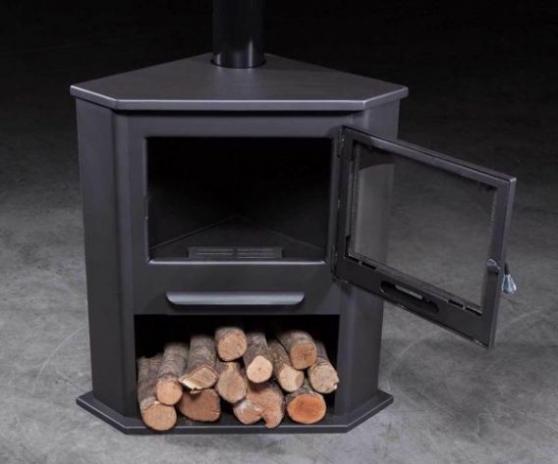 Poêle à bois R1 12,4KW