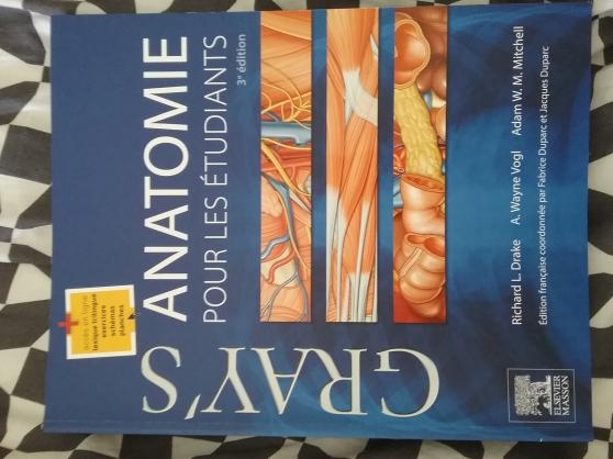 Annonce occasion, vente ou achat 'Gray\'s anatomie pour les étudiants'