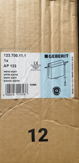 Reservoir suspendu Geberit, NEUF