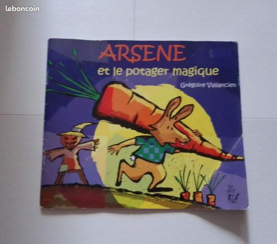 Arsène et le PotagerMagique Livre Enfant