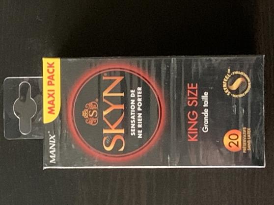 Préservatifs à Domicile Skyn king size