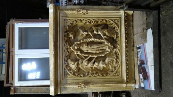 Annonce occasion, vente ou achat 'Moulage de façade de Cathédrale'