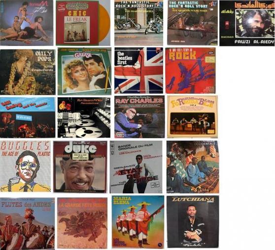 Vinyls 33 tours