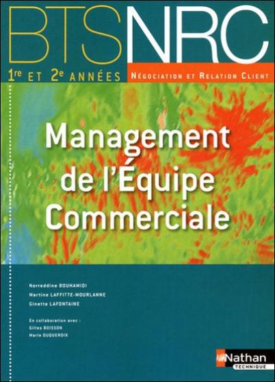 bts nrc :management de l'equipe commerci - Annonce gratuite marche.fr