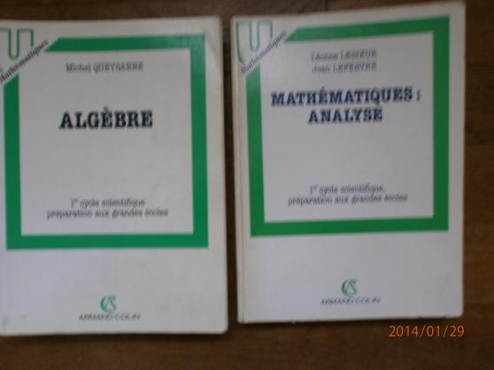 cours de mathématiques classes préparato - Annonce gratuite marche.fr