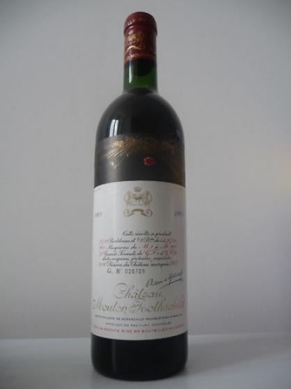 Annonce occasion, vente ou achat 'Château Mouton Rothschild 1961'