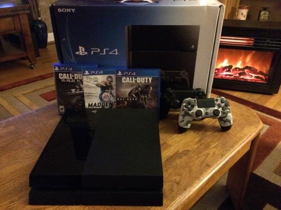 Sony PlayStation 4 500 Go avec 3 Jeux et