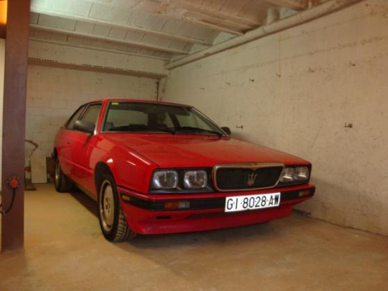 Maserati Butirbo 222 de 1988 rouge