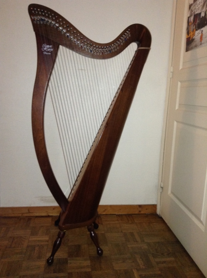 vend harpe celtique camac hermine musique instruments. Black Bedroom Furniture Sets. Home Design Ideas