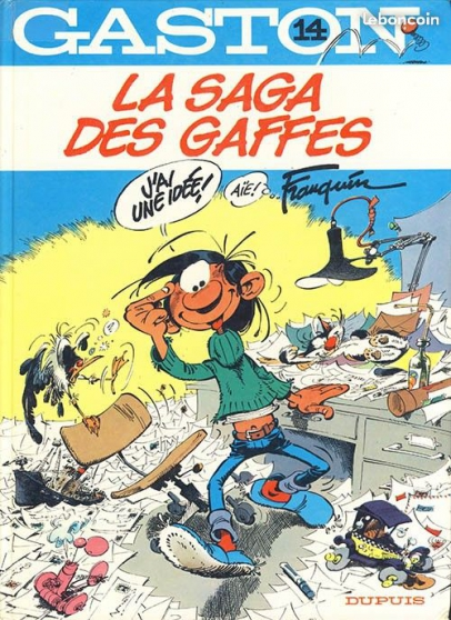 gaston lagaffe - 15 albums - Annonce gratuite marche.fr