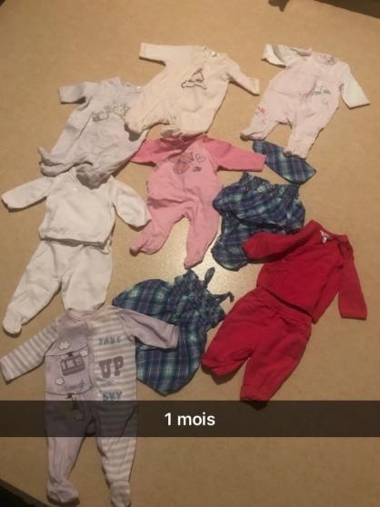 Vêtements bébé fille de 1 à 18 mois