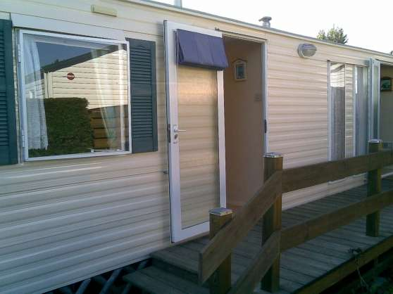 Loue Mobil-home dans camping 4 étoiles