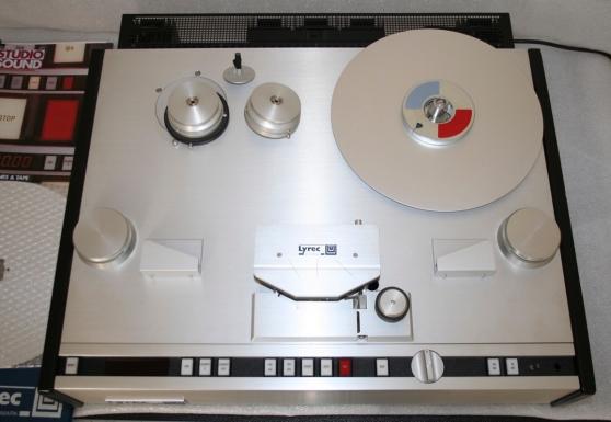 Annonce occasion, vente ou achat 'Lyrec tr55x 14 Studio Tape Recorder'
