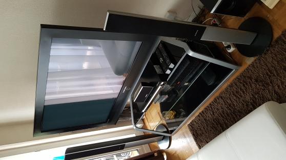 Tv plasma+HOME cinéma Samsung+meuble tv