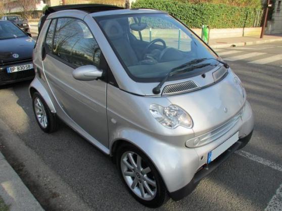 Annonce occasion, vente ou achat 'voiture sans permis smart fortwo 2 cabri'