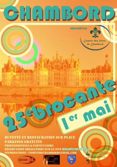 Brocante de Chambord (REPORTÉE EN 2021)