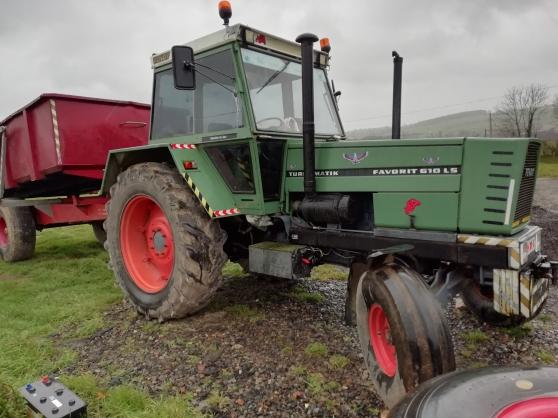 Tracteur Fendt 610ls