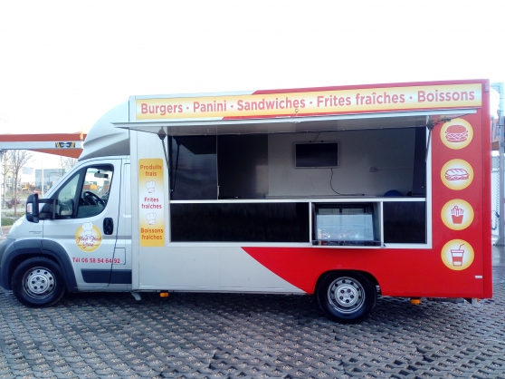 Food truck vasp fiat ducato 180 multijet