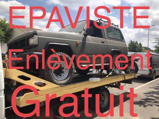 Annonce occasion, vente ou achat 'EPAVISTE ENLEVEMENT D EPAVES GRATUIT'