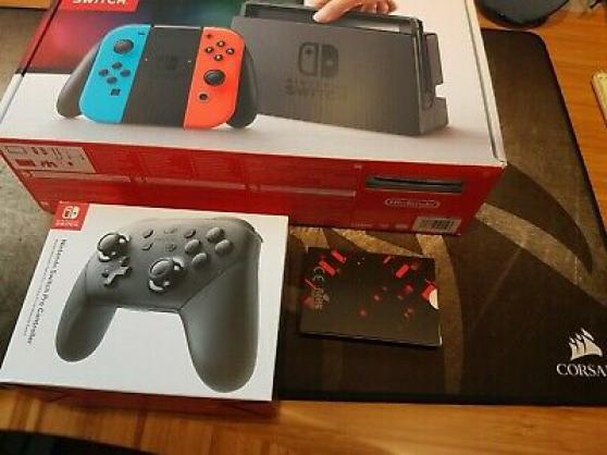 Ensemble Nintendo Switch V1 Modèle XAW1