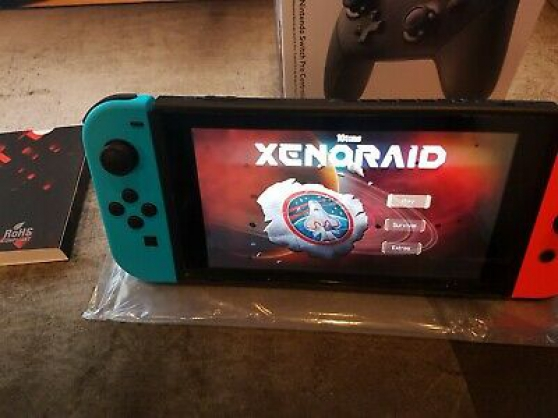 Ensemble Nintendo Switch V1 Modèle XAW1 - Photo 2