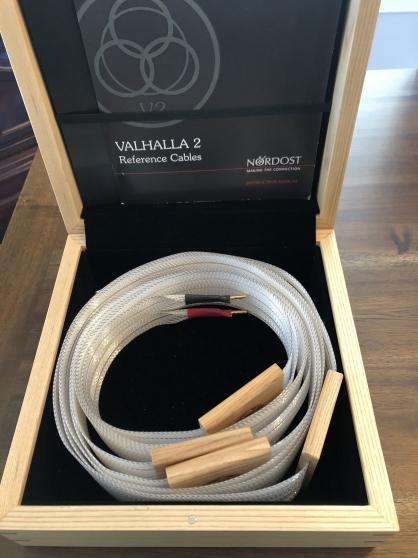 Annonce occasion, vente ou achat 'Nordost Valhalla 2, 3 mètres de câbles d'
