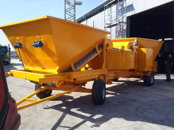 Centrale à béton SUMAB KL-20 sur châssis