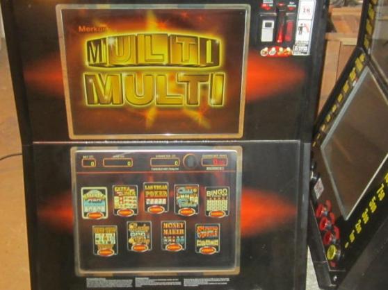 Annonce occasion, vente ou achat 'appareil merkur 312 jeux dont poker'