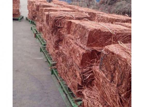 8000 Tonnes de cuivre en cable denudés