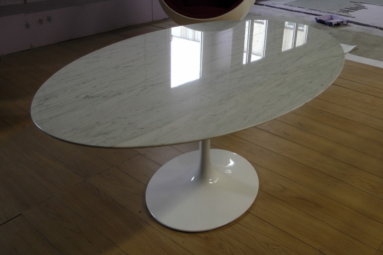 Knoll saarinen table cannes meubles d coration tables cannes reference meu tab kno for Table knoll occasion