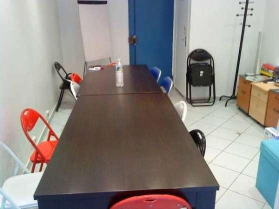 15m² de bureau en sous/sol très clair