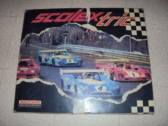vend circuit scalectrix des année 70