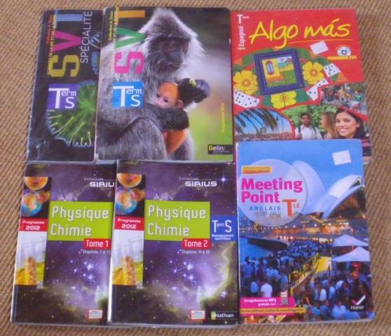 Livres Terminale S lycée M. Berthelot