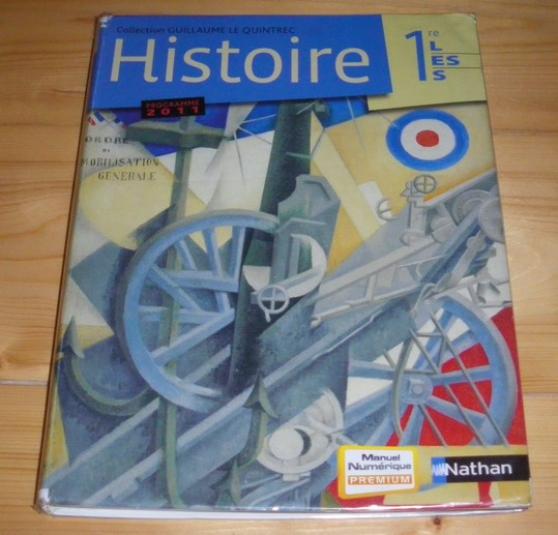 Annonce occasion, vente ou achat 'Histoire 1re'