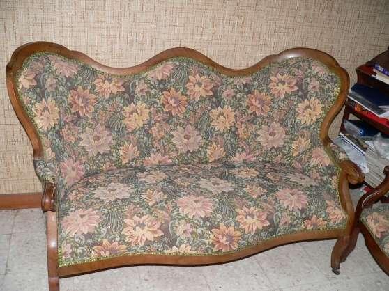 Annonce occasion, vente ou achat 'vds canapé Voltaire & 2 fauteuils'