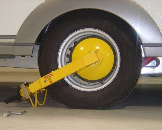 sabot antivol bloque roue neuf pro