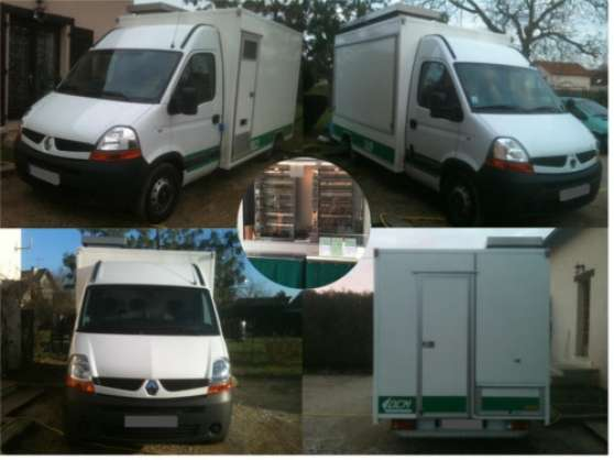 CAMION MAGASIN RENAULT MASTER CONFORT RO