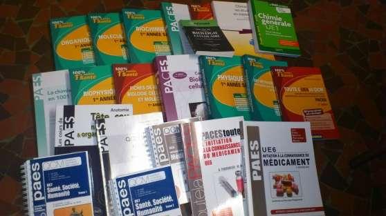 Annonce occasion, vente ou achat 'Livres PACES'
