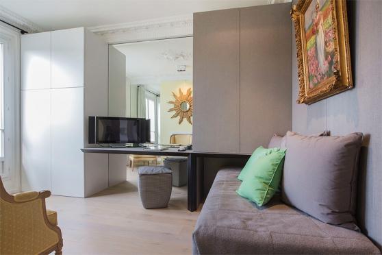 2 pièces meublé à Paris de 50m²