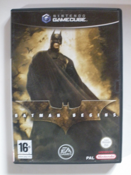 Nintendo gamecube Batman begins (16+)