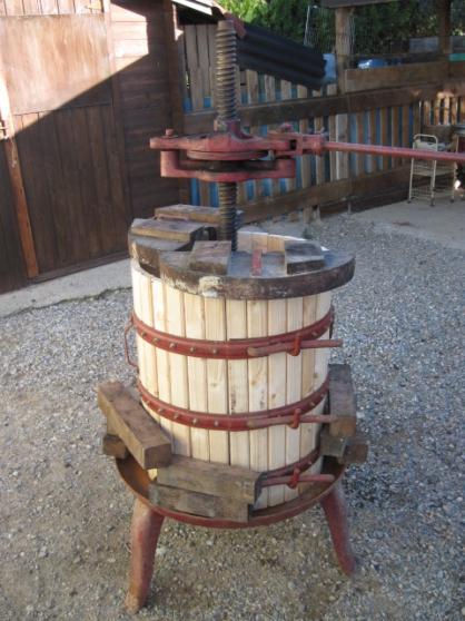 Annonce occasion, vente ou achat 'pressoir a vin'