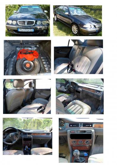 Rover 45, essence pour pièces uniquement