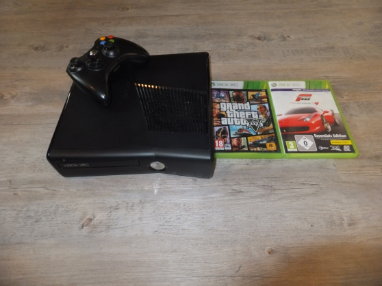 xbox360 slim glitch 250 go + jeux - Photo 3