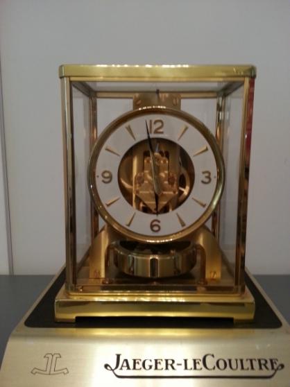 Annonce occasion, vente ou achat 'Pendule dorée Jaeger LeCoultre Atmos'