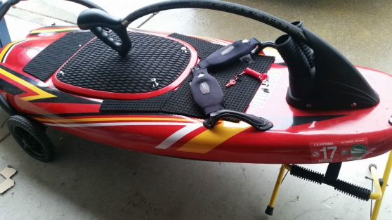 JetSurf Surfboard avec moteur