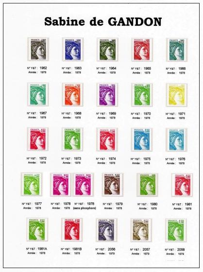 """timbres """"sabine de gandon"""" - Annonce gratuite marche.fr"""