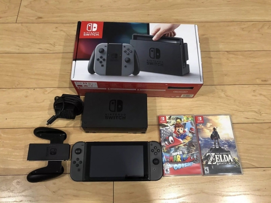 CONSOLE Nintendo SWITCH dans sa boite d'