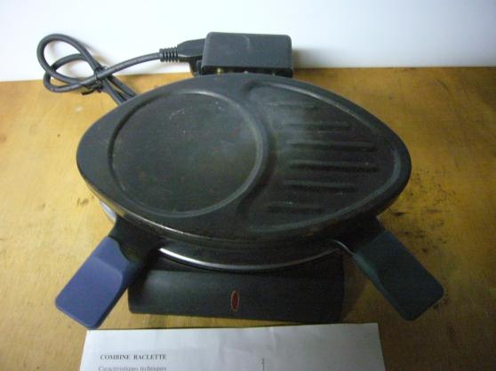 Annonce occasion, vente ou achat 'Combiné raclette pour 2'