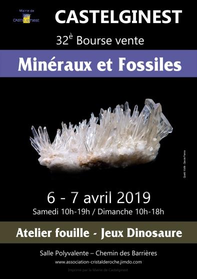 32è bourse vente de minéraux et fossiles - Annonce gratuite marche.fr