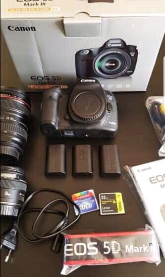Annonce occasion, vente ou achat 'boîtier Canon EOS 5d Mark III'